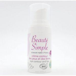 Crème Contour des Yeux et des Lèvres Beauté Simple