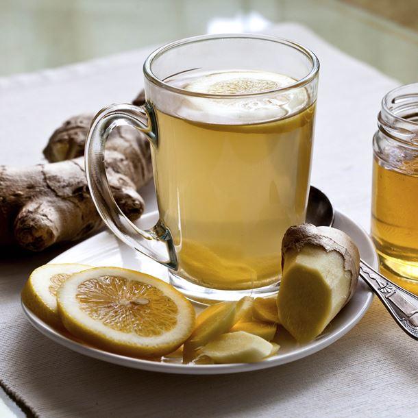 Le thé au gingembre