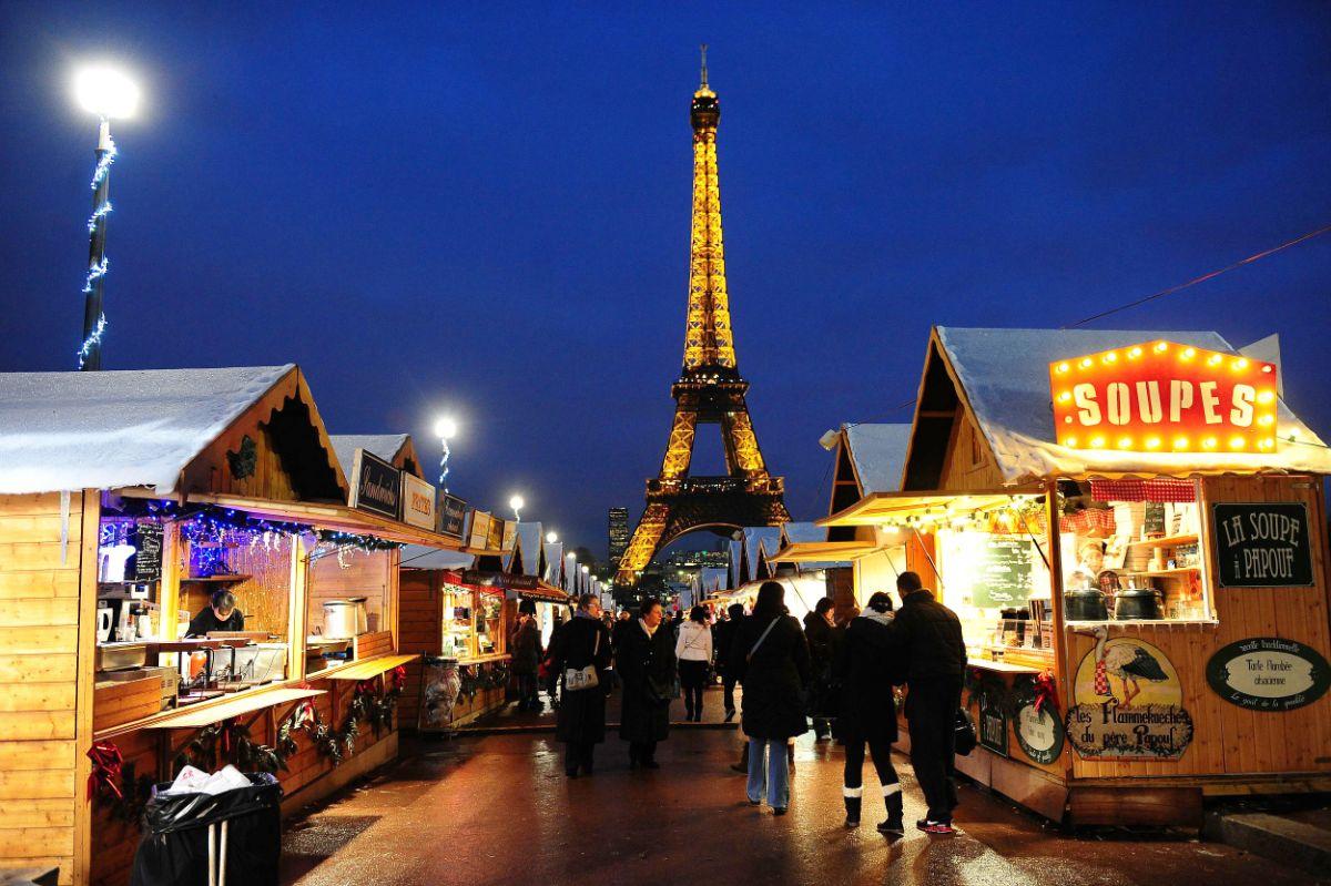 Les marchés de noël à Paris