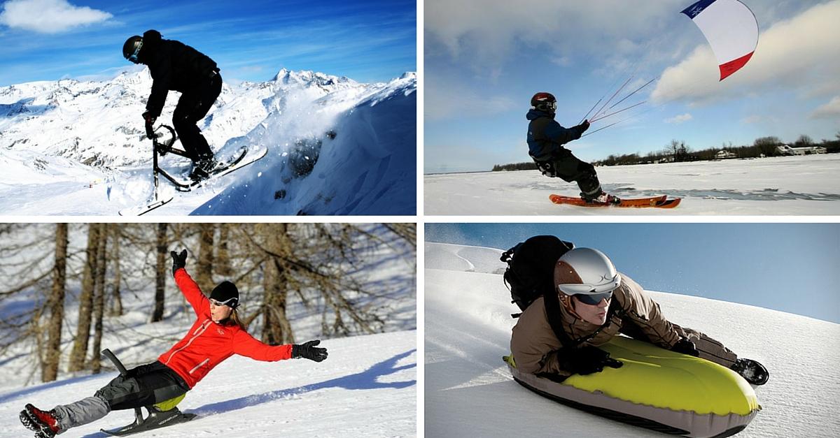 Participer à des sports d'hiver