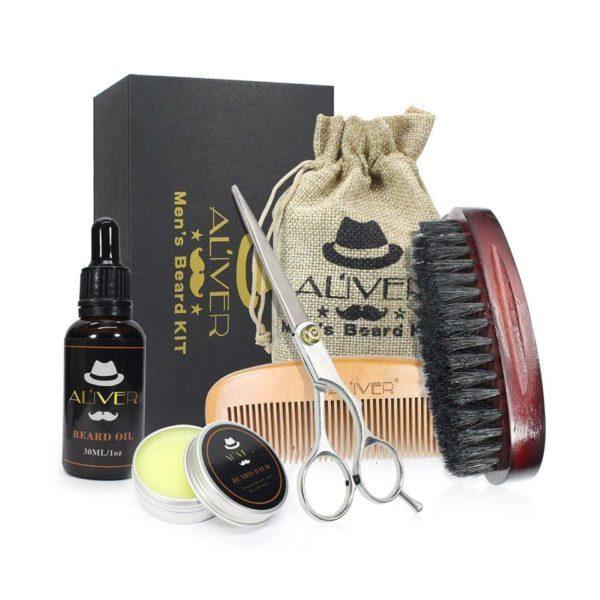 ciseaux huile barbe