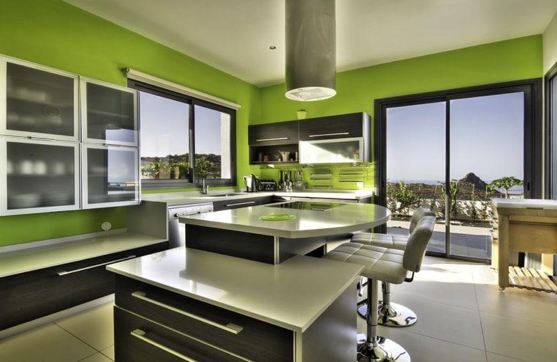 vert pour la cuisine