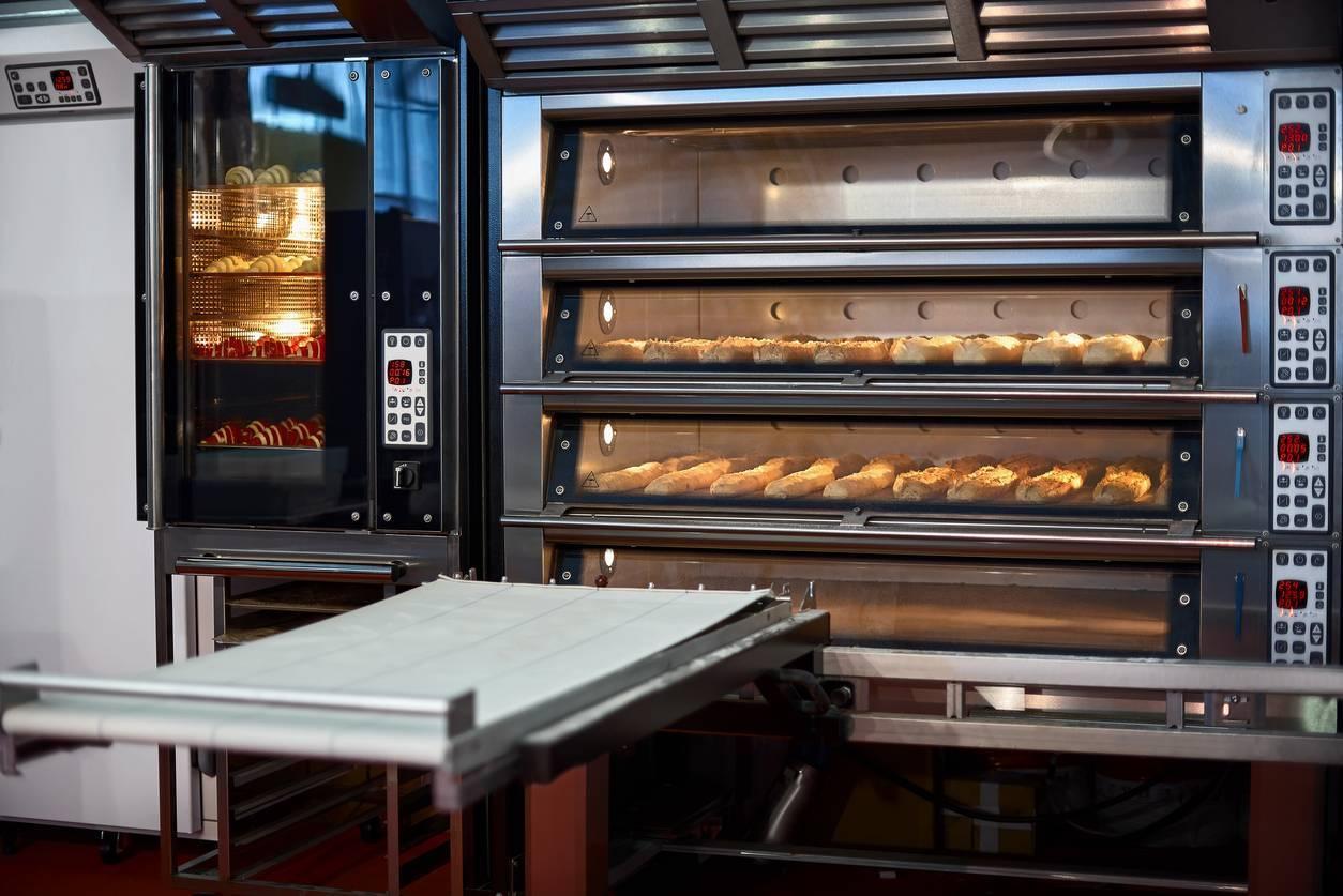 four de boulangerie professionnel électrique